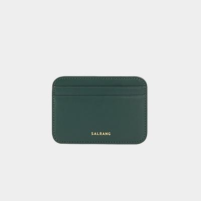 Dijon 101R mini Card Wallet olive green 디종 미니 카드 월렛 올리브그린