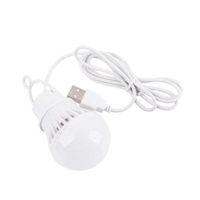 캠핑용 LED램프 3W / USB타입 LED전구 LCNB626