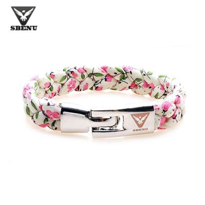 [스베누] LACE2 BRACELET 핑크플라워 SBNB4090-01