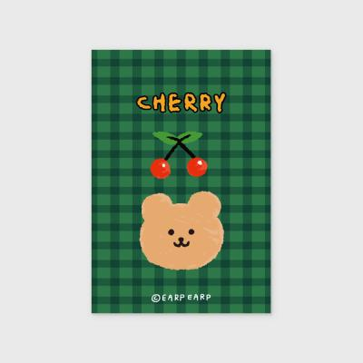 Cherry bear-green(엽서)
