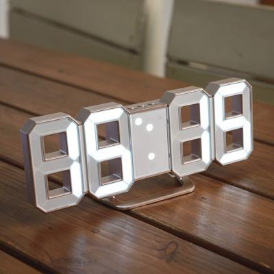 오리엔트 OT1586 골드 3D 화이트LED 디지털시계