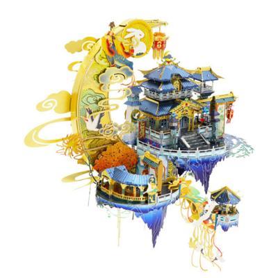 158피스 메탈퍼즐 - 달의 궁전 (LED)