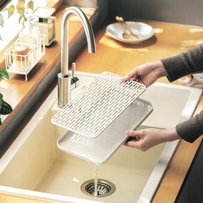 물빠짐 설거지 접시 컵 식기 건조대 정리대 (중형)