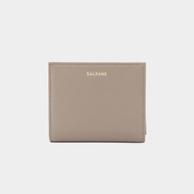 Reims M501 Half Wallet warm grey 하프 월렛 웜그레이