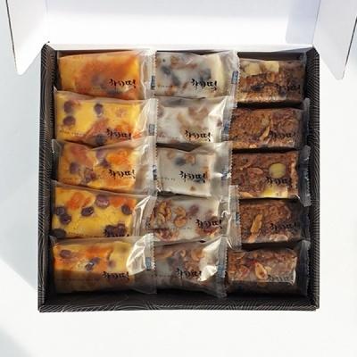 [착한떡] 영양찰떡3종30개입(호박모듬떡,모듬떡,약식)