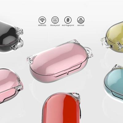 갤럭시버즈/플러스 클리어 투명 하드 케이스 고리세트