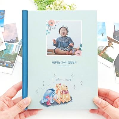 [편집대행] 0608 포토북 - 곰돌이 푸, 꽃들의 정원