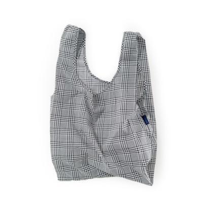 [바쿠백] 휴대용 장바구니 접이식 시장가방 GlenPlaid