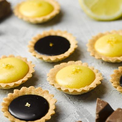 피나포레 노오븐 레몬 초콜릿 가나슈 타르트 만들기