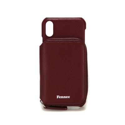 FENNEC iPHONE X/XS MINI POCKET CASE - WINE