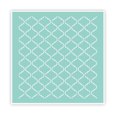 스텐실 - lattice