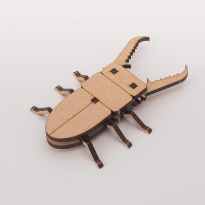 [DIY 넓적사슴벌레 만들기] 엄마표 집콕놀이 미술놀이