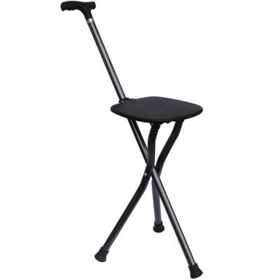 접이식 휴대용 지팡이 의자 노인보행보조기