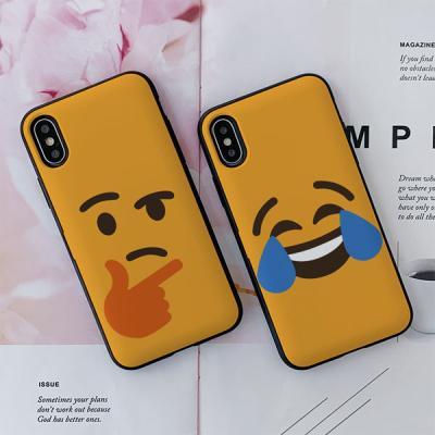아이폰8 emoji 카드케이스