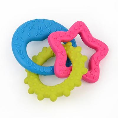 강아지 고리 물기놀이 장난감 1개(색상랜덤)