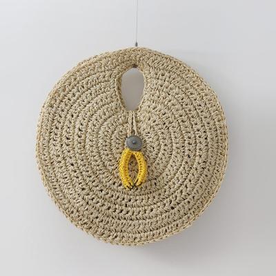 Rattan Circle Bag