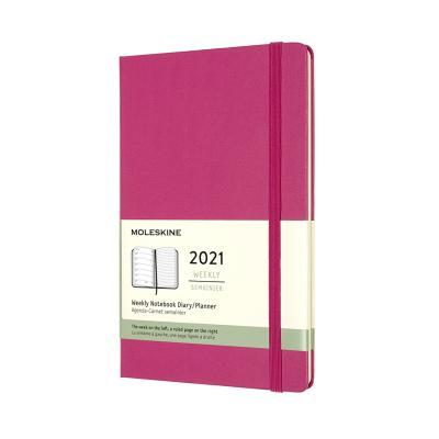 몰스킨 2021위클리/부겐빌레아 핑크.하드 L