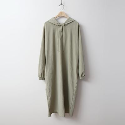 Air Nylon Hood Dress