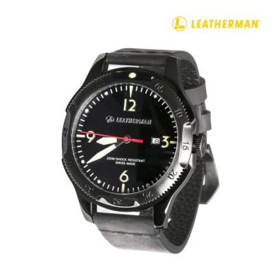 Leatherman 35주년 남자 시계(블랙)