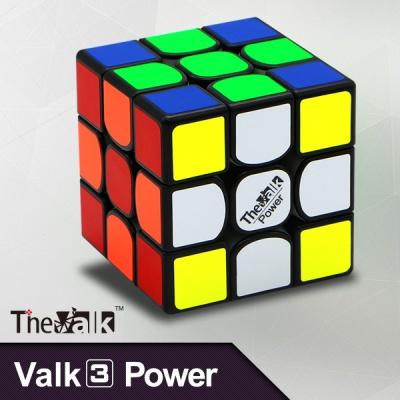 발크3 파워_3x3x3 - 블랙/화이트/스티커리스 선택