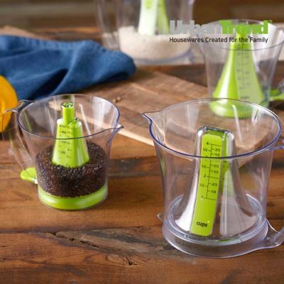 프리모 양면 듀얼모드 계량컵 깔때기 계량컵