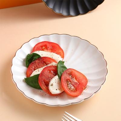 [N365] 푸코 플라워가든 골드라인 (접시 M)