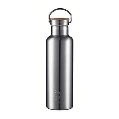 스테인레스 보온 보냉 물병 750ml (대나무캡/무광) BR750B