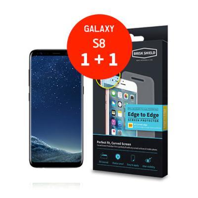 브리스크쉴드 삼성 Galaxy S8 충격흡수 3D풀커버 프리미엄 액정보호필름(2개 1세트)