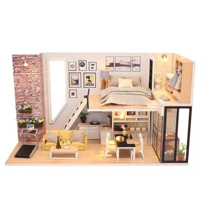 [adico]DIY 미니어처 하우스 - 브라운 스톤