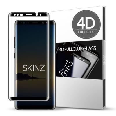 스킨즈 갤럭시노트8 4D 풀글루 강화유리 필름 (1장)