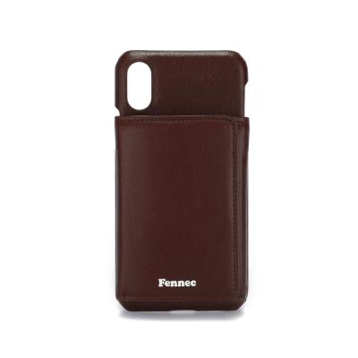 FENNEC iPHONE X/XS TRIPLE POCKET CASE - WINE