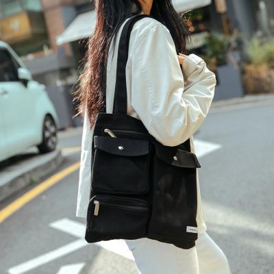 CL 마크 에코백 (블랙)
