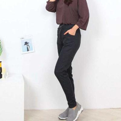 Mujer basic 민무늬 트레이닝 팬츠 4color CH1647125