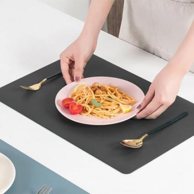 식탁의 품격 블랙 테이블 매트 1개