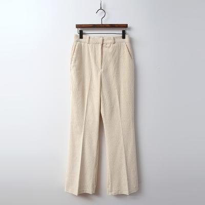 Corduroy Fomal Flare Pants