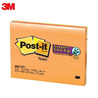 3M 포스트잇 미팅노트 6845-SSPL [00031833]