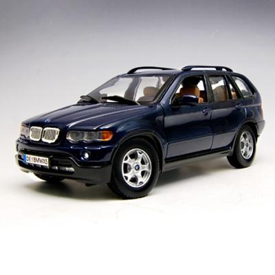 [모터맥스]1:24 BMW X5(네이비 블루) (73254)/모형자동차/다이캐스트