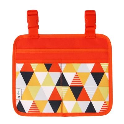 [올브]감성캠핑 체어 오거나이저 오렌지