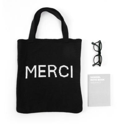 [베네]MERCI 니트가방