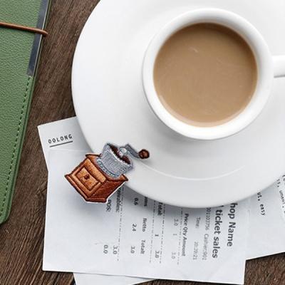 커피 와펜 스티커(2종)