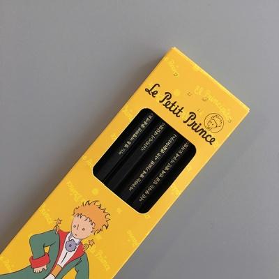 어린왕자 각인 흑목육각연필 6P 세트