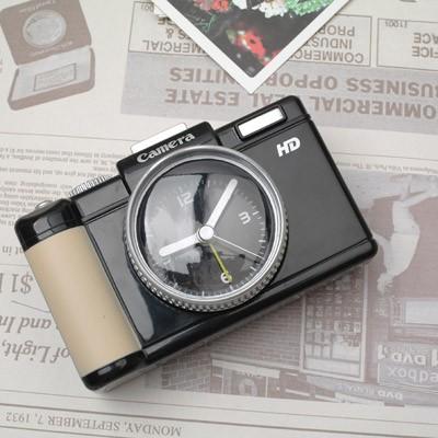 DSLR 카메라 알람시계 - 블랙