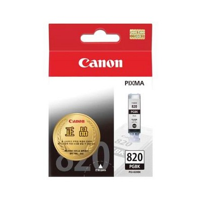 캐논(CANON) 잉크 PGI-820(19ml) / Black / MP545,MP568,MP628,MP988,MX868,iP3680,iP4680,iP4760