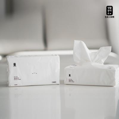 [생활공작소] 뽑아쓰는 팝업티슈 180매 12팩
