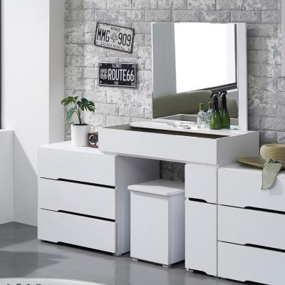 아이라 와이드 익스텐션 화장대 A형+의자