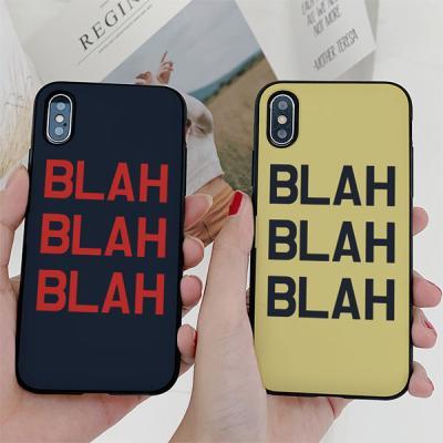 아이폰7플러스 BLAH 카드케이스
