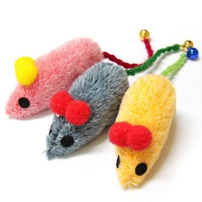 밍크쥐 IN 캣닢 색상랜덤 반려묘 인형 놀이