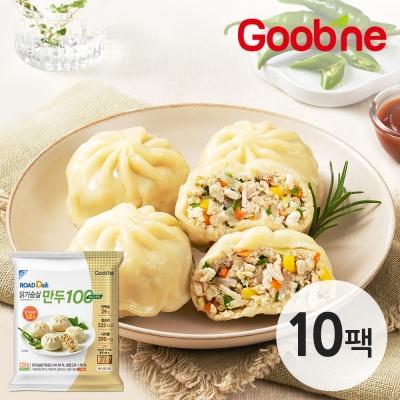 굽네 로드닭 닭가슴살 만두 100 청양고추맛 220g 10팩