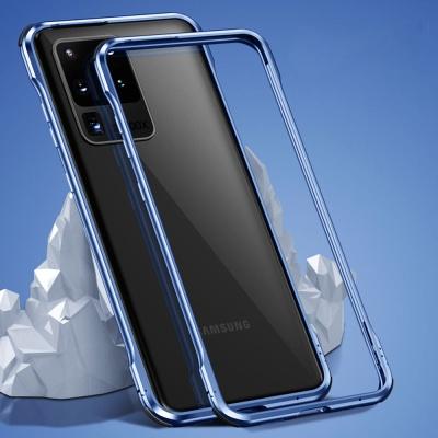 아이폰12 PROMAX MINI/글로우 에어백 메탈 범퍼케이스