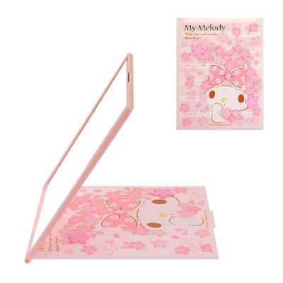 (일본직수입) 마이멜로디 벚꽃 탁상 거울